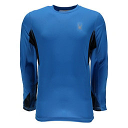 Spyder Alps L/S Tech Mens Shirt, French Blue-French Blue Halfto, 256