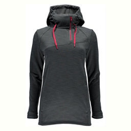Spyder Myrge Fleece Womens Hoodie, Image Grey, 256