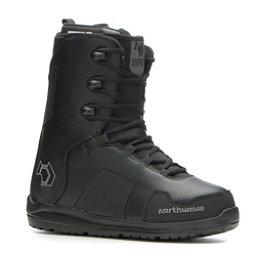 Northwave Supra Snowboard Boots, Black Black, 256