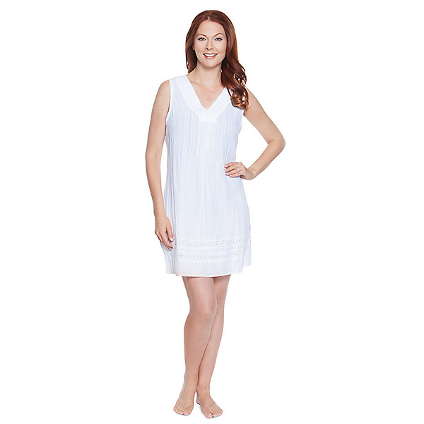 Dotti Sunny Stripe Dress Bathing Suit Cover Up, , 600