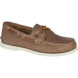 Sperry A/O 2-Eye Perforated Mens Shoes, Tan, 256