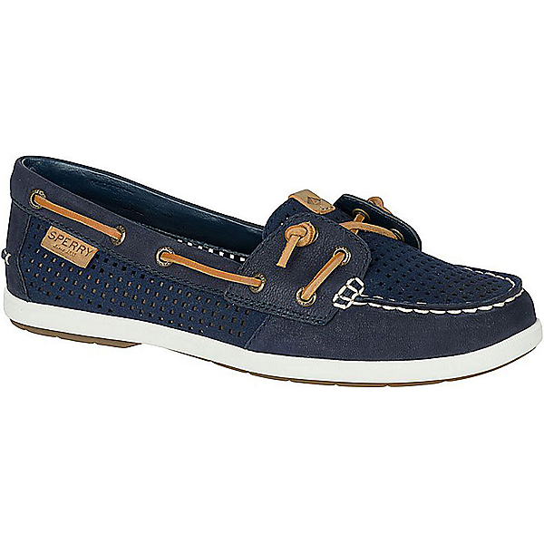 Sperry Coil Ivy Perforated Womens Shoes, Navy, 600