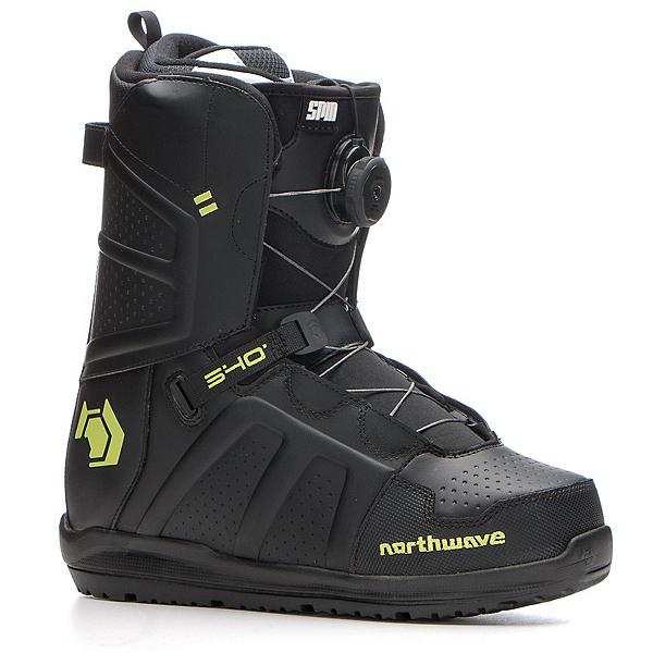 Northwave Hover Spin Snowboard Boots, Black, 600