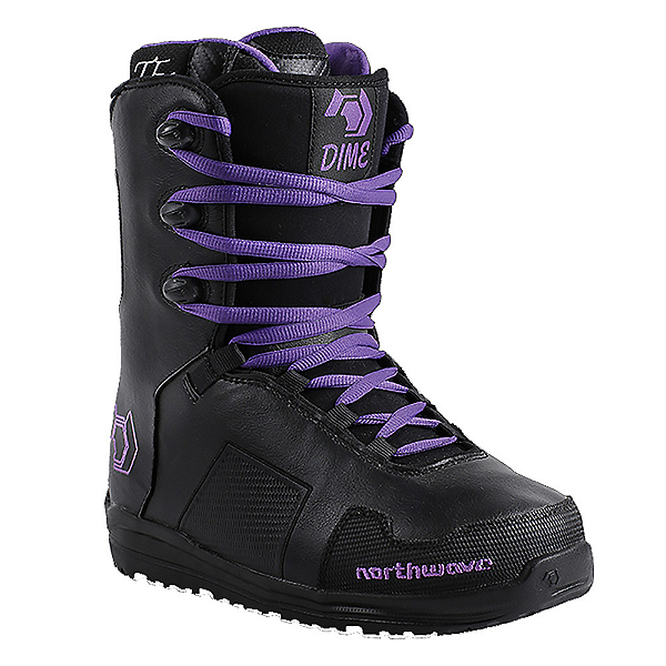 Northwave Dime Womens Snowboard Boots, Black, 600