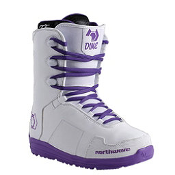 Northwave Dime Womens Snowboard Boots, White, 256