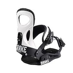 Drake King Snowboard Bindings, White, 256