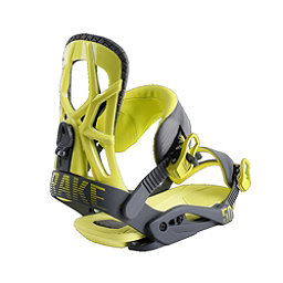 Drake Fifty Snowboard Bindings, Grey-Lime, 256