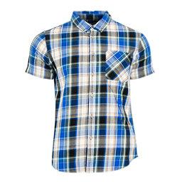 United By Blue Springer Plaid Mens Shirt, Blue-Tan, 256