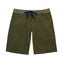 United By Blue Stillwater Mens Board Shorts, Olive, 256