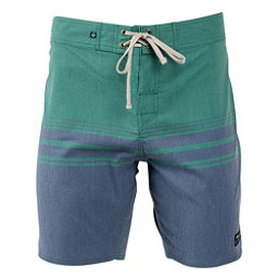 United By Blue Backwater Mens Board Shorts, Navy, 256