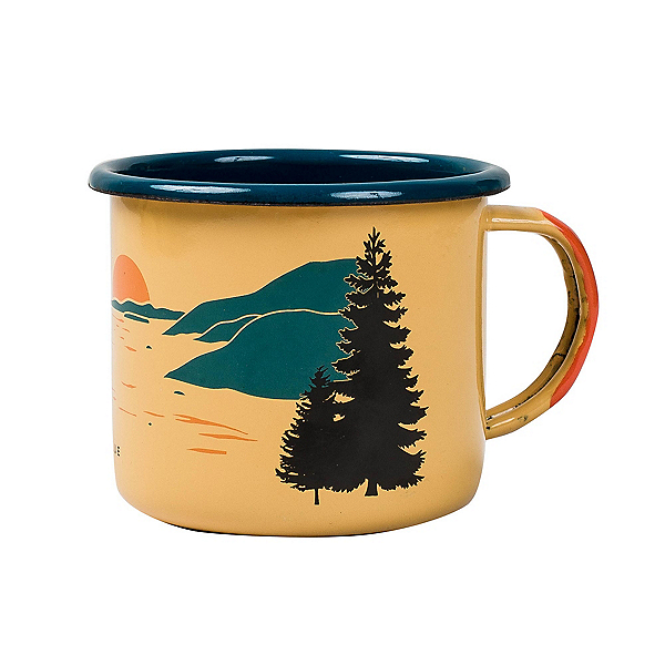 United By Blue Inlet Enamel Steel Mug, , 600
