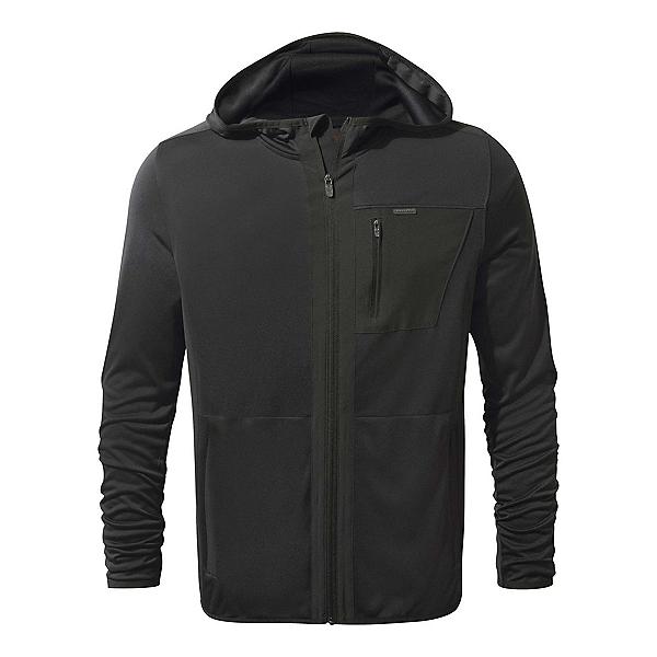 Craghoppers Nat Geo Nosilife Elgin Hooded Mens Jacket, Black Pepper, 600