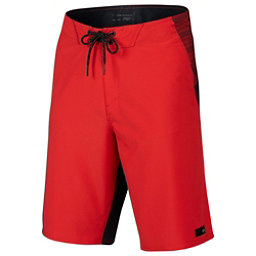 Oakley Sidetrack 21 Mens Board Shorts, Red Line, 256