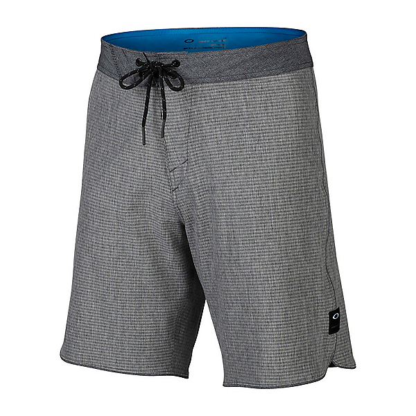 Oakley Single Fin 19 Mens Board Shorts, Blackout, 600