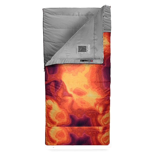 The North Face Homestead Twin 20/-7 Sleeping Bag (Previous Season), Tibetan Orange Heat Map Print-, 600