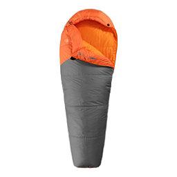 The North Face Aleutian 40/4 Sleeping Bag, Monarch Orange-Zinc Grey Lt, 256