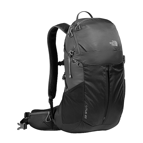The North Face Litus 22 Daypack (Previous Season), Asphalt Grey-TNF Black, 600