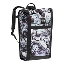 The North Face Homestead Waterproof Roadsoda Pack (Previous Season), TNF Black Iridescent Marble Pr, 256