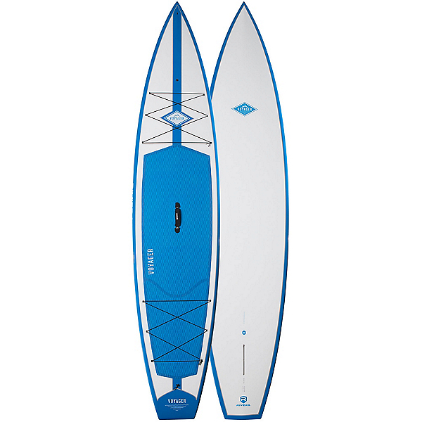 Riviera Paddlesurf Voyager 12'6 Touring Stand Up Paddleboard 2017, Blue, 600