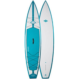 Riviera Paddlesurf Voyager 12'6 Touring Stand Up Paddleboard, Turquoise, 256