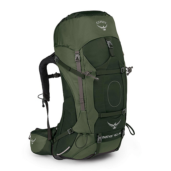 Osprey Aether AG 60 Backpack 2017, Adriondack Green, 600