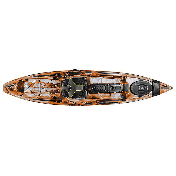Ocean Kayak Trident 11 Angler Kayak, Orange Camo, 600