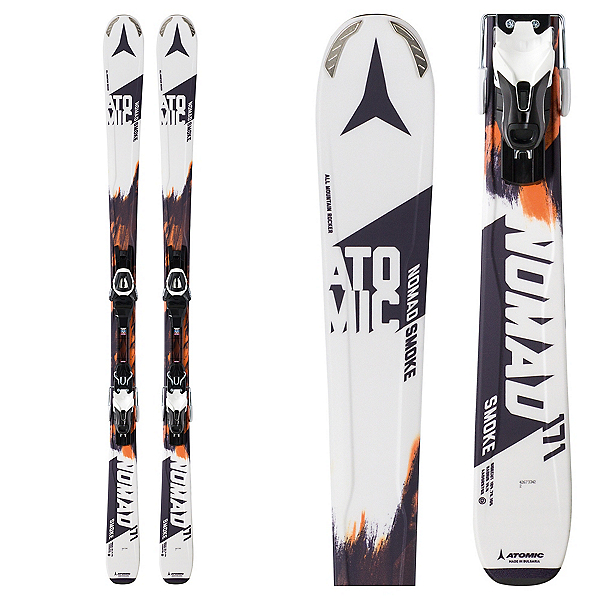Atomic Nomad Smoke R Skis with Lithium 10 Bindings, , 600