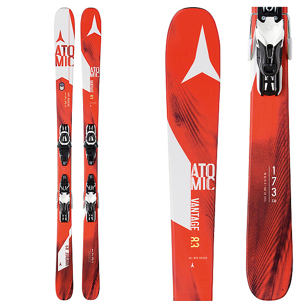 Atomic Vantage 83 R Skis with Lithium 10 Bindings, , 600