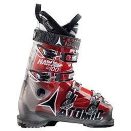 Atomic Hawx R 100 Ski Boots, Smoke-Transparent Red, 256
