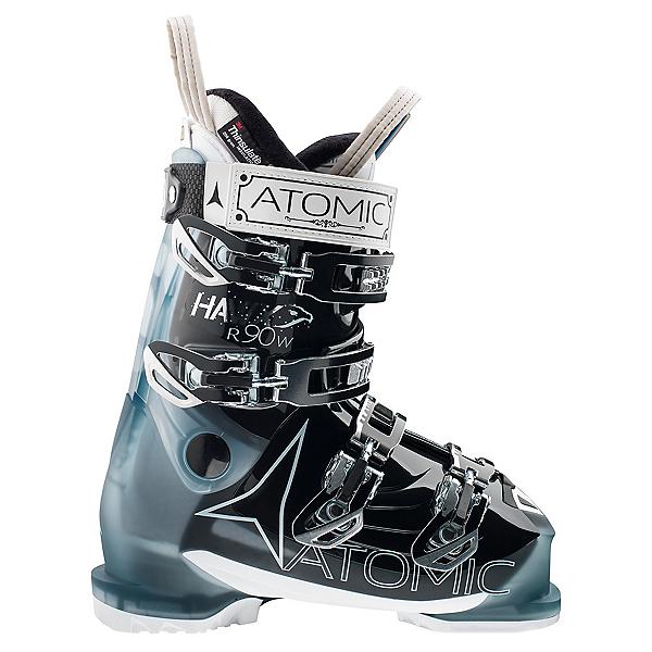 Atomic Hawx R 90 Womens Ski Boots, Transparent Light Blue-Black, 600