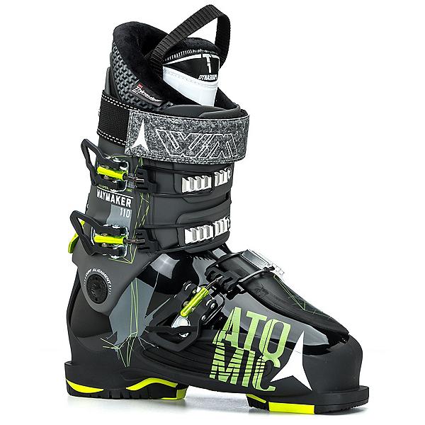 Atomic Waymaker 110 Ski Boots, Black-Lime, 600