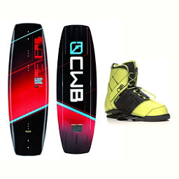 CWB Reverb Wakeboard With LTD Faction Bindings 2017, 141cm, 256