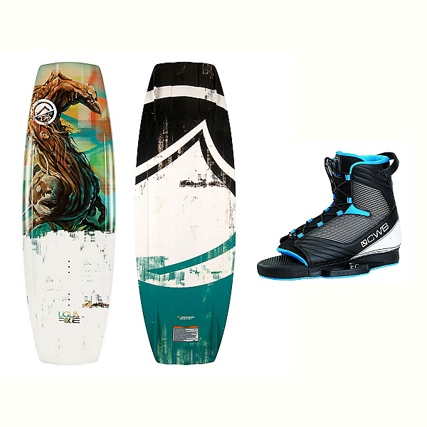 Liquid Force RDX Wakeboard With Optima 2 Bindings 2017, 134cm, 600