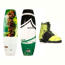Liquid Force RDX Wakeboard With LTD Faction Bindings 2017, 138cm, 256