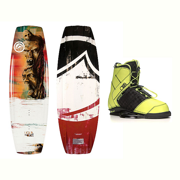 Liquid Force RDX Wakeboard With LTD Faction Bindings 2017, 142cm, 600
