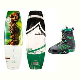 Liquid Force RDX Wakeboard With MD Bindings 2017, 138cm, 256