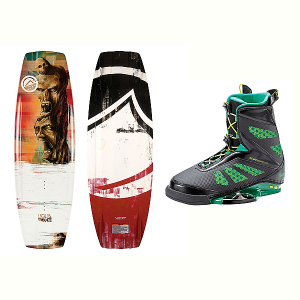 Liquid Force RDX Wakeboard With MD Bindings 2017, 142cm, 600