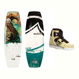 Liquid Force RDX Wakeboard With Howl Bindings, 134cm, 256