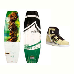 Liquid Force RDX Wakeboard With Howl Bindings 2017, 138cm, 256