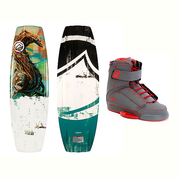 Liquid Force RDX Wakeboard With Odyssey Bindings 2017, 134cm, 600