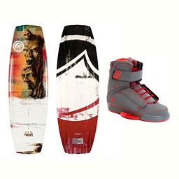 Liquid Force RDX Wakeboard With Odyssey Bindings 2017, 142cm, 256