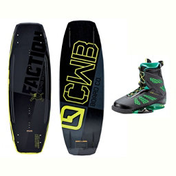 CWB Faction Wakeboard With MD Bindings 2017, , 256