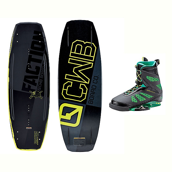 CWB Faction Wakeboard With MD Bindings 2017, , 600