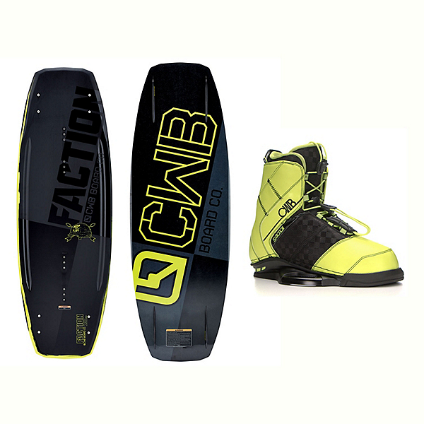 CWB Faction Wakeboard With LTD Faction Bindings 2017, , 600