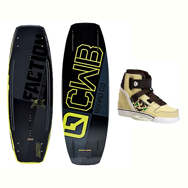 CWB Faction Wakeboard With Howl Bindings 2017, , 600