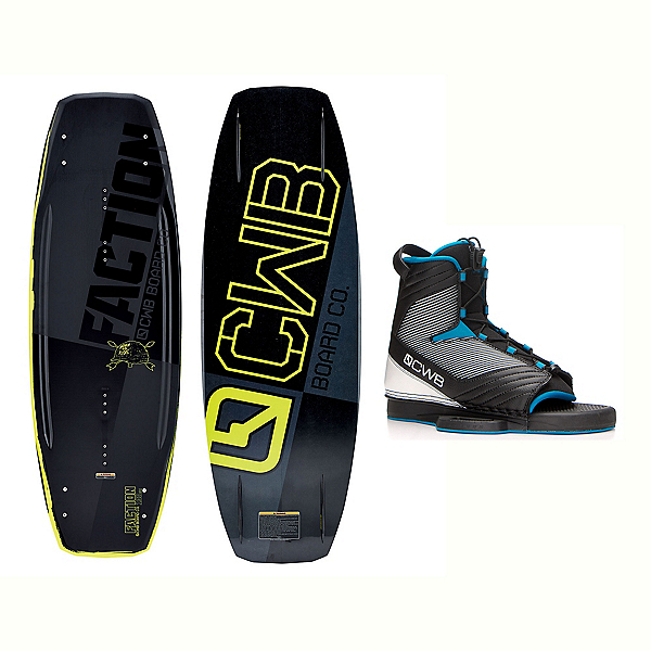 CWB Faction Blem Wakeboard With Optima Bindings 2017, , 600