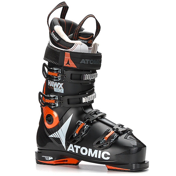 Atomic Hawx Ultra 110 Ski Boots, Black-Orange, 600