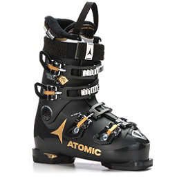 Atomic Hawx Magna 70 W Womens Ski Boots 2018, Black-Gold, 256