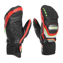 Leki World Cup Race Ti S Mittens Ski Racing Mittens, Black-Red, 256