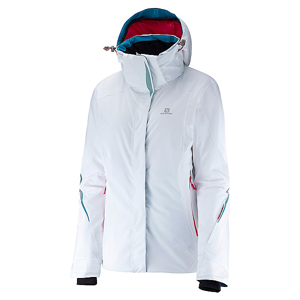 Salomon Brilliant Womens Insulated Ski Jacket, , 600
